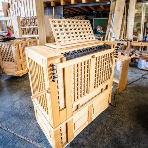 Orgelbau Truhenorgel
